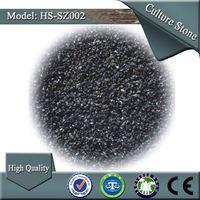 HS-SZ002 garden black color decorate sand gravel stone
