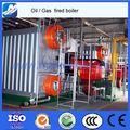 Endüstrisinde kullanılan gaz/petrol kömür odun buhar kazanı