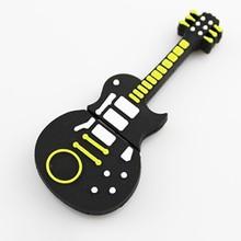 Wholsale bulk cheap guitar shape memory stick pen drive 2g 4g 8g 16g 32g 64g usb flash drive