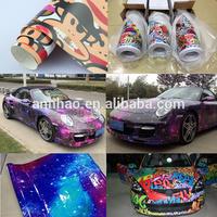 Car Body and Interior Decoration 1.52*30m Bomb Vinyl Custom Hologram Sticker