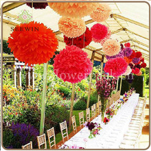 Wedding Occasion and Party Decoration Event & Party Item Type Tissue Paper Flower Ball for Wedding