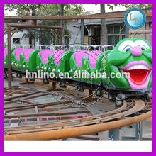 Mini train games ! amusement kids backyard roller coaster for sale