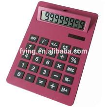 promotion gifts electronic A4 size solar 8 digital desktop jambo calculator