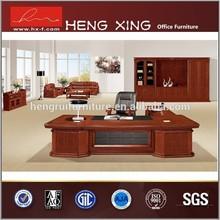 Furniture office solid wood veneer executive table office desk HX-SRD0021