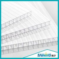 lexan polycarbonate hollow roofing sun sheet