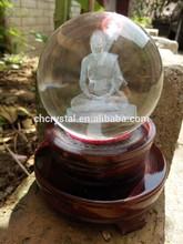 laser engraved crystal ball MH-SJ036