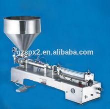 spx semi automatic cosmetic or liquid dual use filling machine