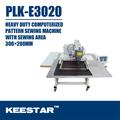 Keestar plk-e3020 heavy duty patrón de diseño del logotipo de la máquina de coser