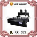 Hongye jinan cnc router vendre. carrés de tuyaux en acier structure de pierre cnc machine ql1218