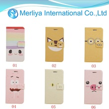 Newest Lovely Cute Leather Cover Hard Back Case For Apple IPhone 6