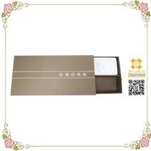 Brownish dessert perfume custom made packaging paper case
