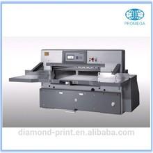 QZYK-C High Speed Paper Cutter, servo control, colorful screen, turbine, softly hydraulic pressure, optimizational function