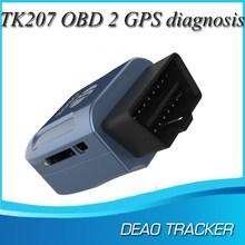 2015 New GPS306 tk207 gps obd tracker GSM+GPS+SMS/GPRS+OBD car trackers