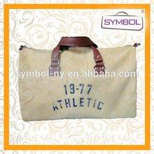 Newest discount branded export surplus canvas travel bag