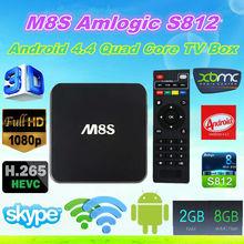 2015 New Amlogic S812 M8S Android TV Box ENY EM8S M8S Quad Core