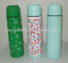 wholesale monster energy drink 500ml silver custom logo vacuum flask/thermal flask