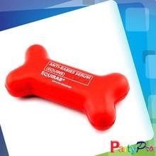 Partypro 2015 New Wholesale PU FOAM Dog Toy Rubber Bones