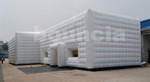 0.4mm PVC Tarpaulin Inflatable Cube Structure Tent For Party Or Advertising