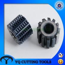 HSS small gear hobbing cutter with module 0.5