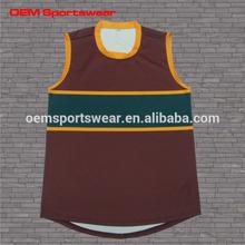 polyester printing australian football jersey