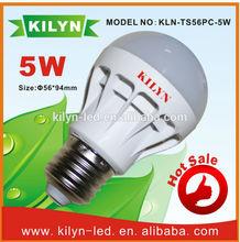 Saving electricity cost in alibaba china hot sales 5w high lumen saffron bulbs