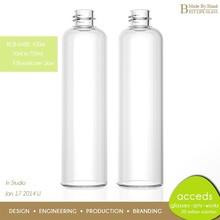 Creativity Free Design Moderno Eco Handmade Borosilicate Mouth Blown Glass Wine Bottle