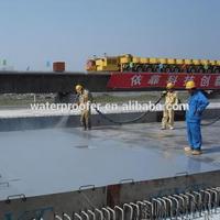 Self-Healing Non-curable rubber modified bitumen Liquid waterproofing coating