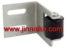 L shape bracket steel stopper with one nylon stopper, adjusted stops