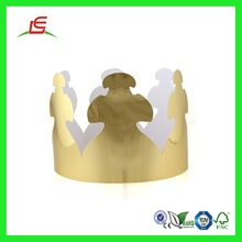Q817 Fun Toy Princess King New Design Cheap Lovely Crown Paper Pattern