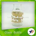 novo produto de artesanato com garrafas de vidro