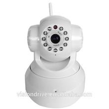 indoor 720p pan/tilt/zoom wireless network wifi camera