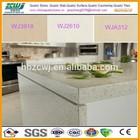 Small Grain Kitchen Countertop White Quartz Slab