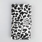 Leopard Magnet Flip Cover For Galaxy Core 2 G355H, Cheap Wallet Leather Celular Case