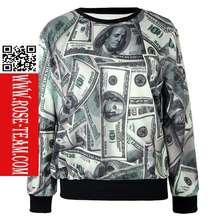 Rose teamNew Arrival hot sell hoodies girl fashion hoodies plain hoodies