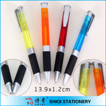 Rubber grip ball point pen set