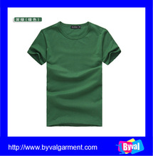 Wholesale green plain own design tshirt nanchang high quality tshirts China factory popular tshirt 2016