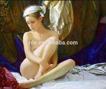 2014 Hot Sale Modern Beautiful Nude Women Painting Girl Sexy Image