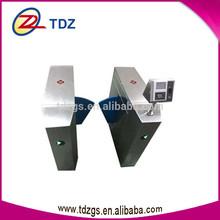 network interface board face fingerprint mechanism of flap barrier with barrier system