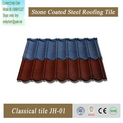 high quality kerala lightweight roofing materials sand coated metal roofing tiles