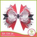 colorido de satén de novia de encaje de flores de la cinta