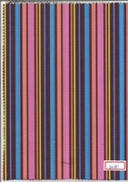 Vertical Stripes Polyester Fabric with PVC/PU Backing