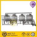 Utilisé des équipements de brasserie usine 1500l micro. fermenteur de bière