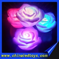 Beautiful led flashing rose for wedding decoration