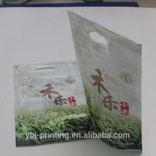 zipper plastic bag for rice packing