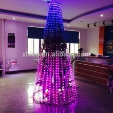 High visual impact waterproof IP67 6G pixel rgb brightest led christmas lights