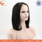wholesale natural color bob short hair lace wig silk top,mens full human hair wig
