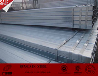 Supplier 2.5 inch galvanized square steel pipe/Manufacturer hot dipped galvanized square pipe/High quality structure square tube