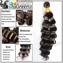 2015 new items 6A high quality deep body brazilian human hair bulk, bulk buy from china