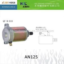 AN125 motorcycle starter motor