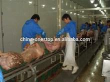 pork slaughtering machine-----1000Pig/Shift pig processing equipment
